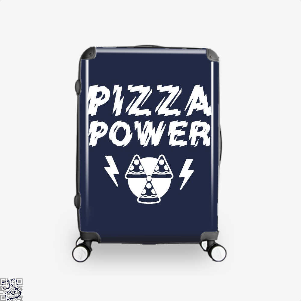 Pizza Nuclear Power Suitcase - Blue / 16 - Productgenapi