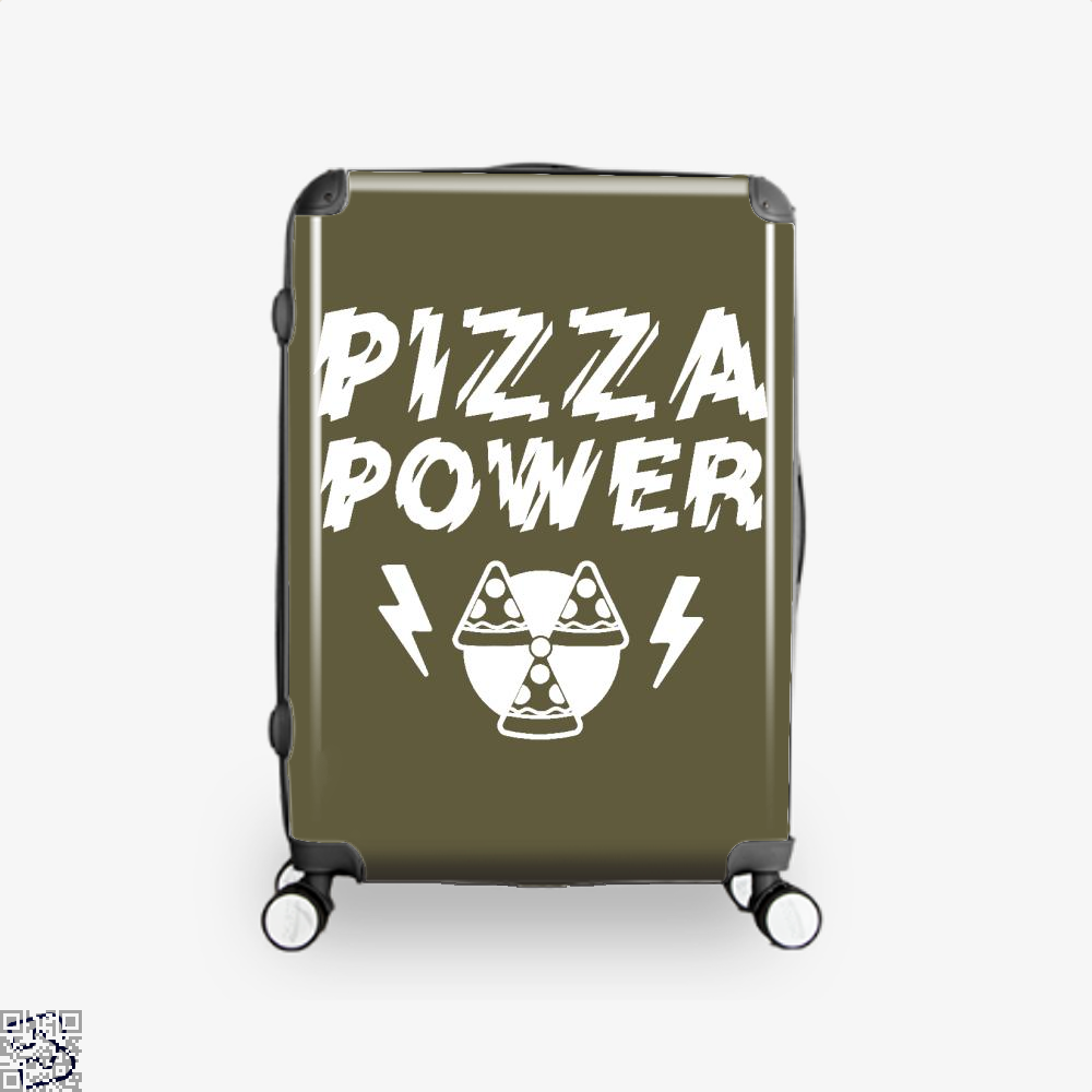Pizza Nuclear Power Suitcase - Brown / 16 - Productgenapi