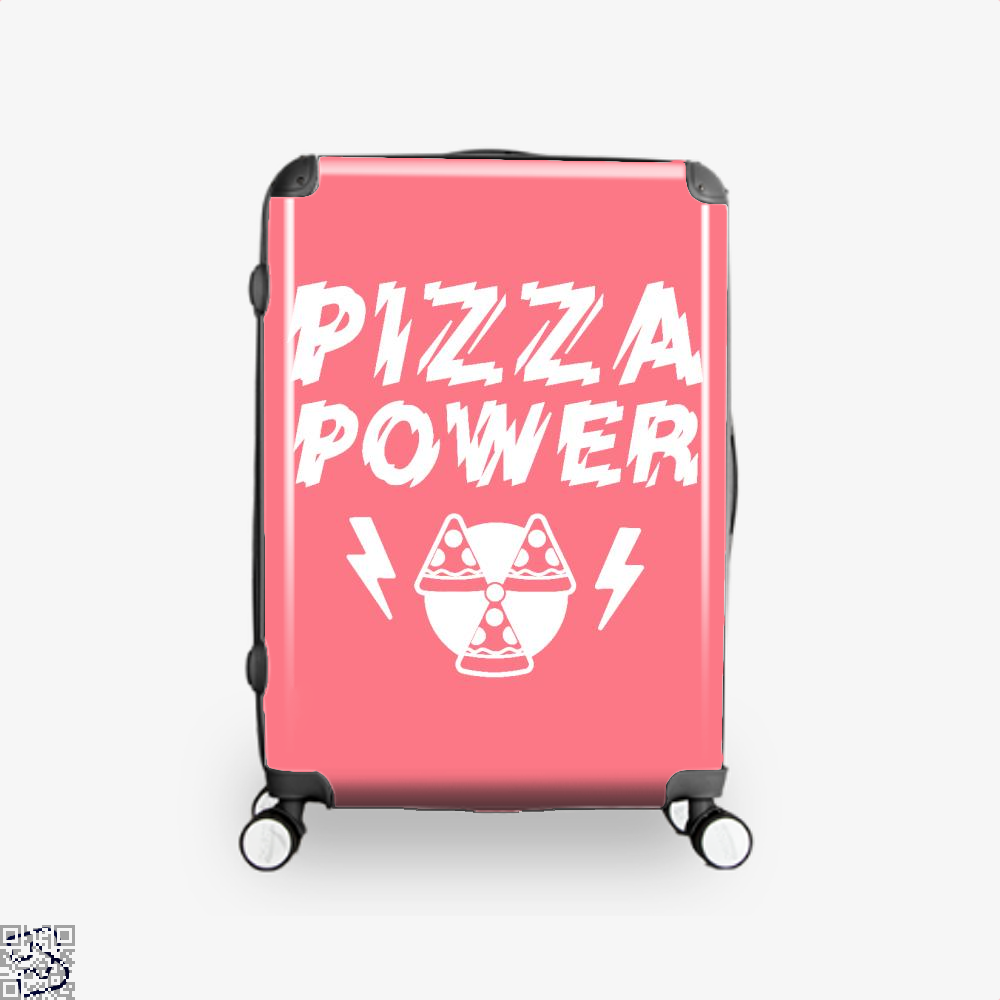 Pizza Nuclear Power Suitcase - Pink / 16 - Productgenapi