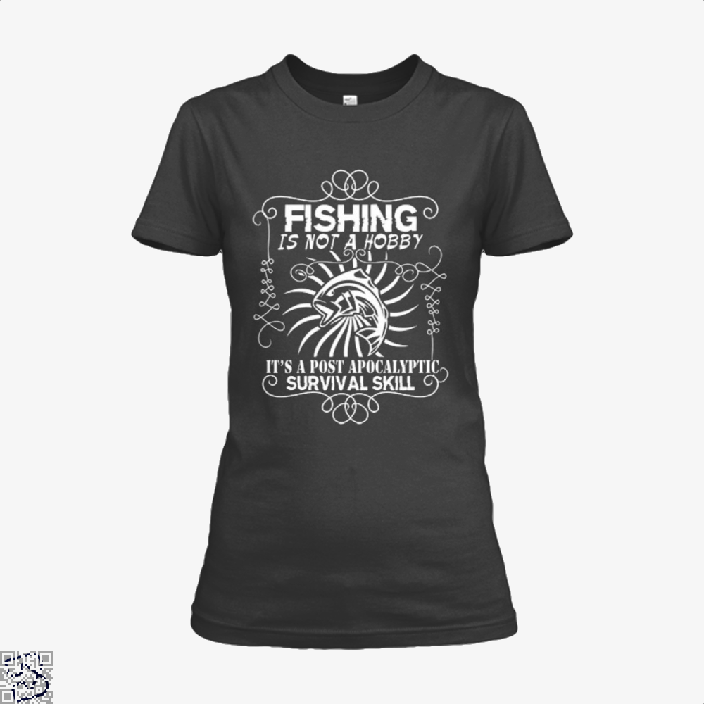 Post Apocalyptic Fishing Shirt - Productgenjpg