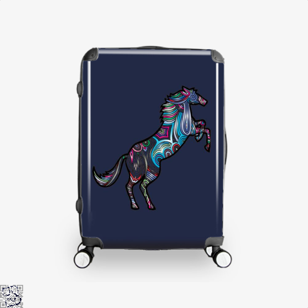 Prismatic Horse Suitcase - Blue / 16 - Productgenjpg