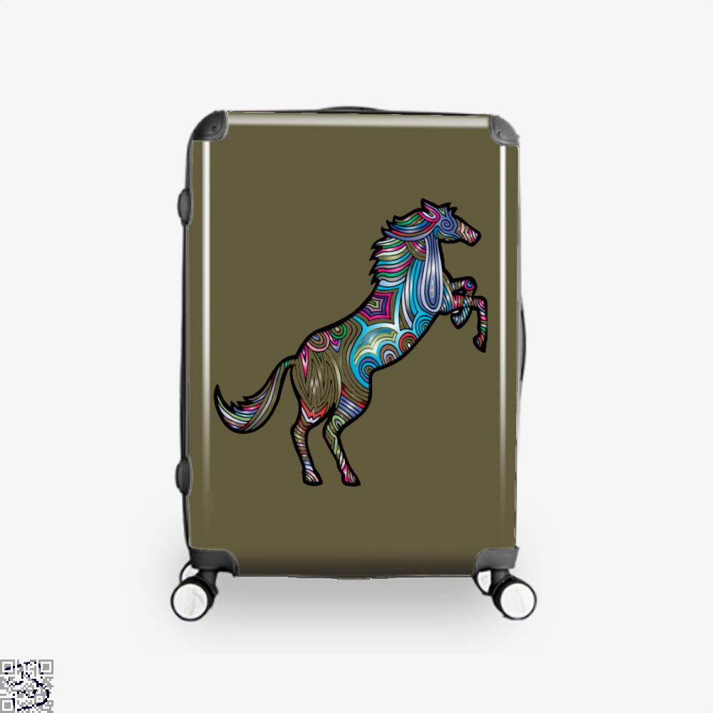 Prismatic Horse Suitcase - Brown / 16 - Productgenjpg