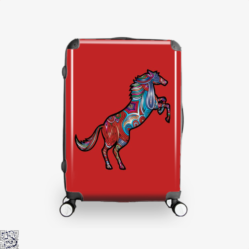 Prismatic Horse Suitcase - Red / 16 - Productgenjpg