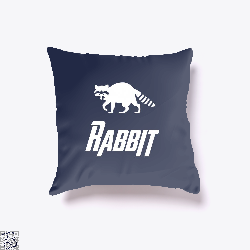 Rabbit Avengers Infinity War Throw Pillow Cover - Blue / 16 X - Productgenapi