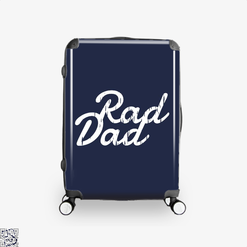 Rad Dad Fathers Day Suitcase - Blue / 16 - Productgenapi