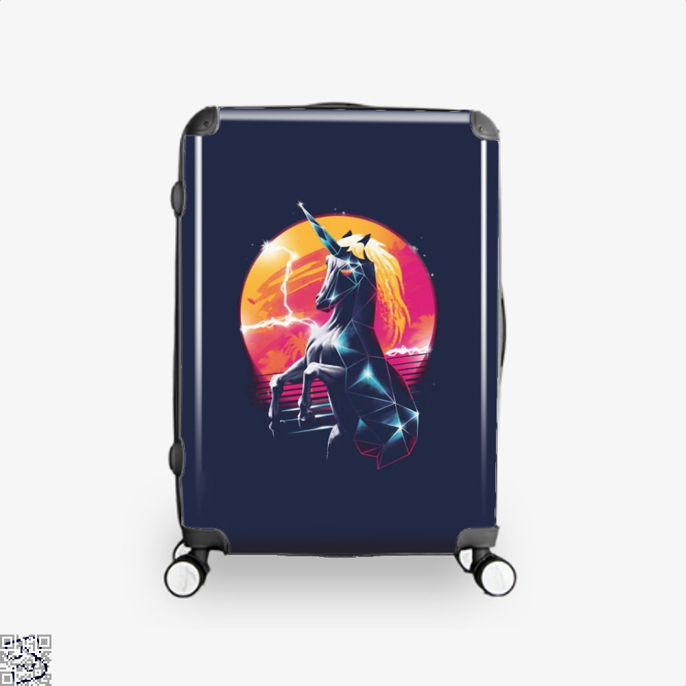 Rad Unicorn Horse Suitcase - Blue / 16 - Productgenjpg