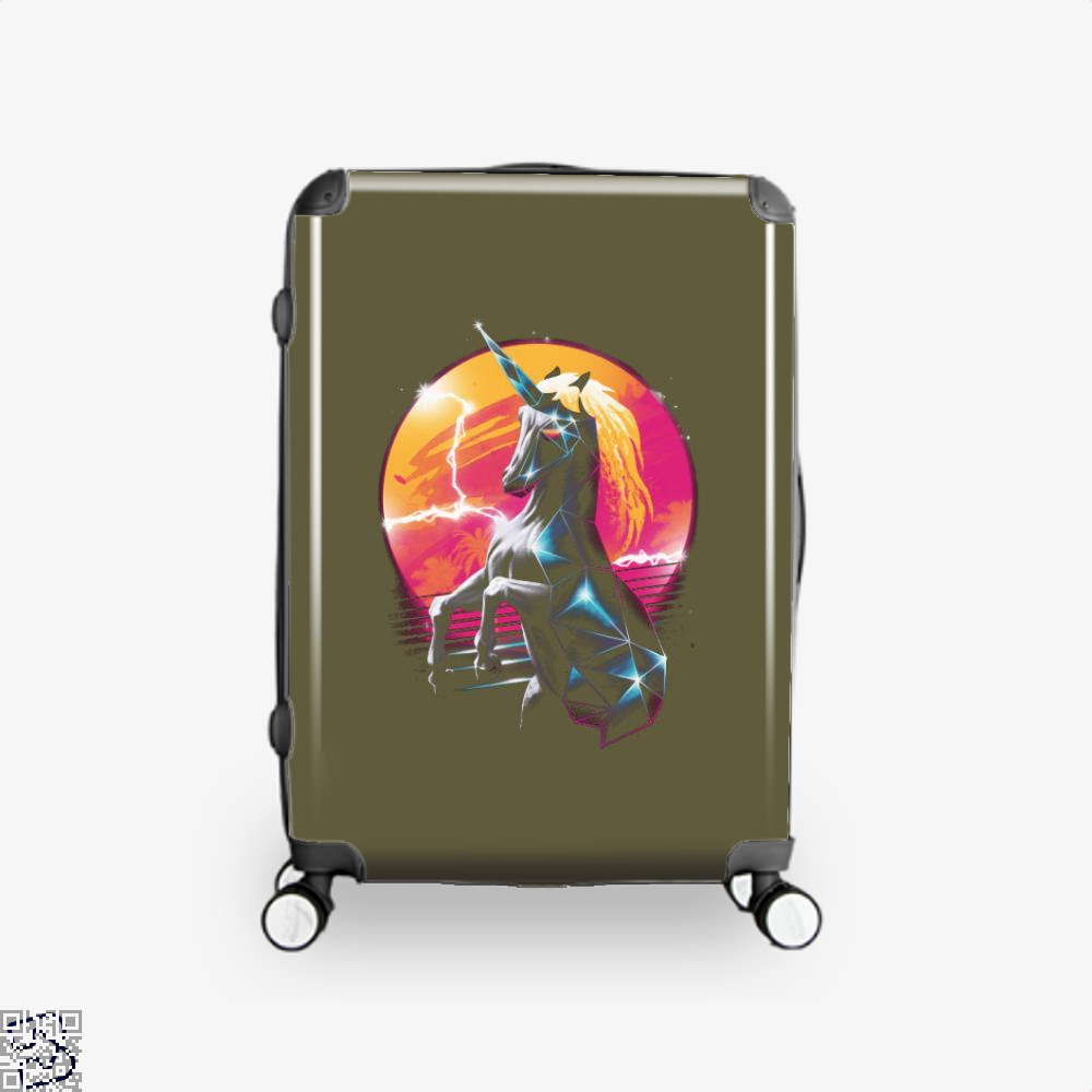 Rad Unicorn Horse Suitcase - Brown / 16 - Productgenjpg