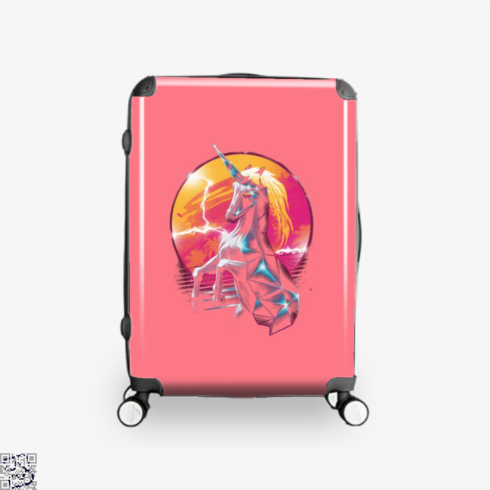 Rad Unicorn Horse Suitcase - Pink / 16 - Productgenjpg