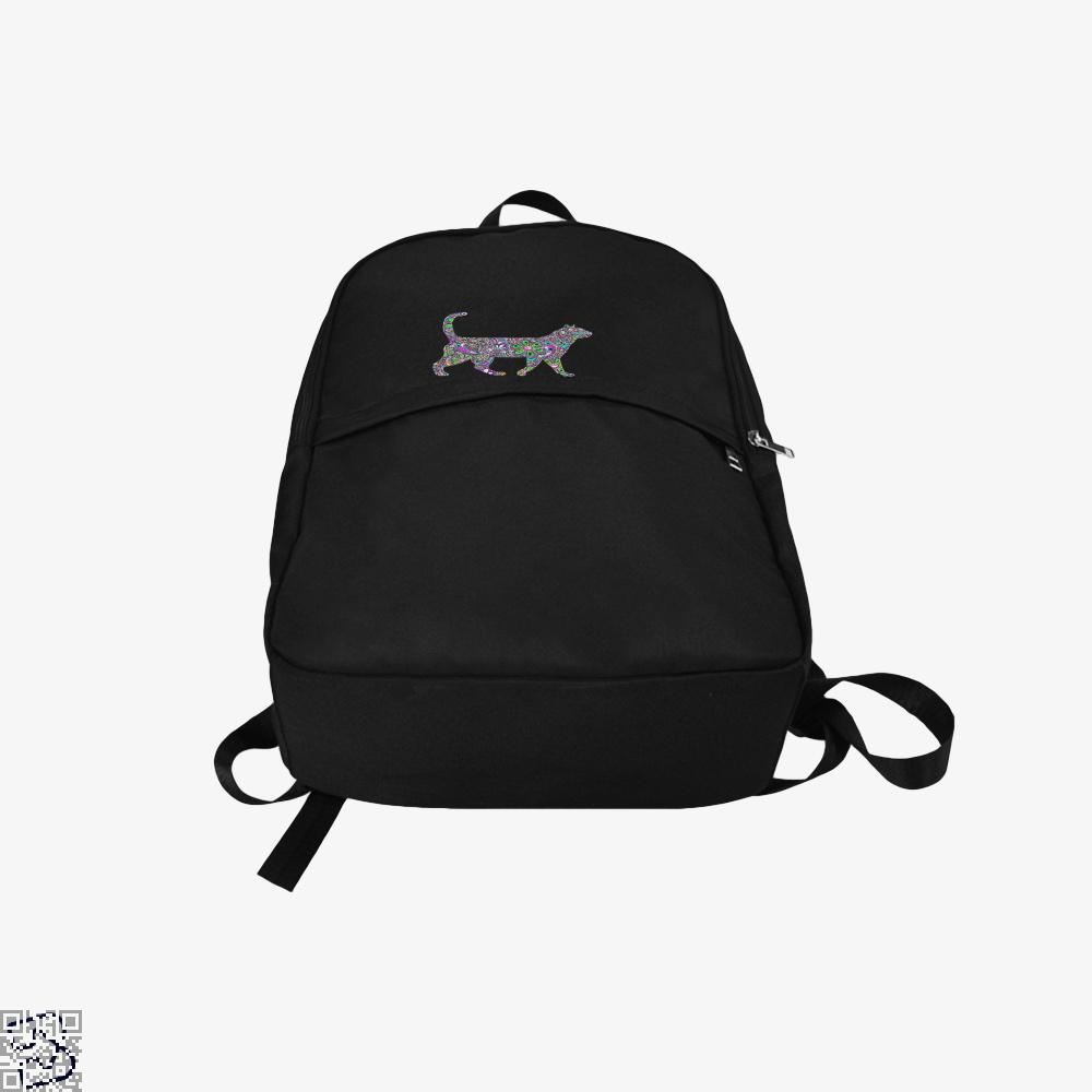 Rainbow Floral Cat Backpack - Productgenjpg