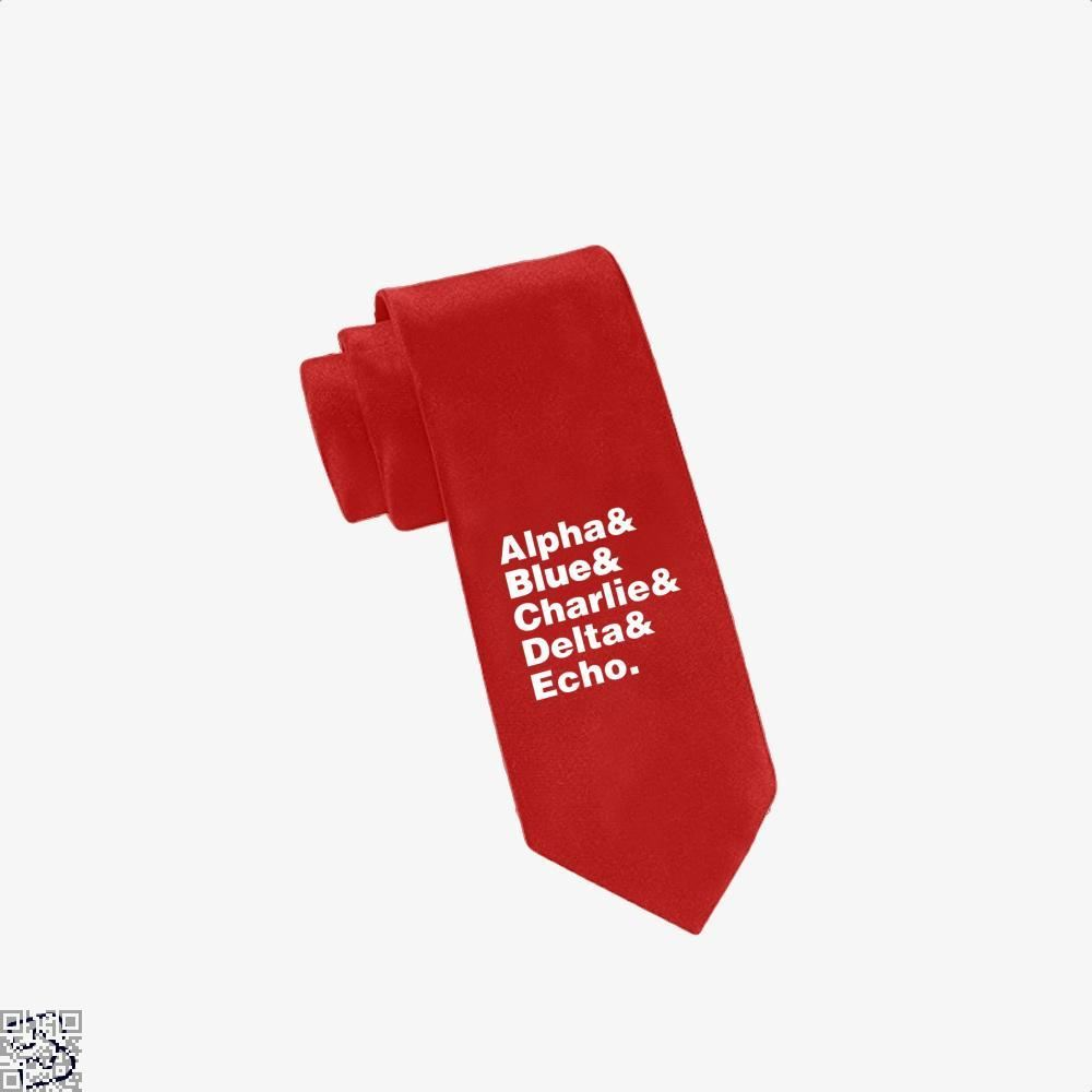 Raptor Squad Helvetica Jurassic World Tie - Red - Productgenapi