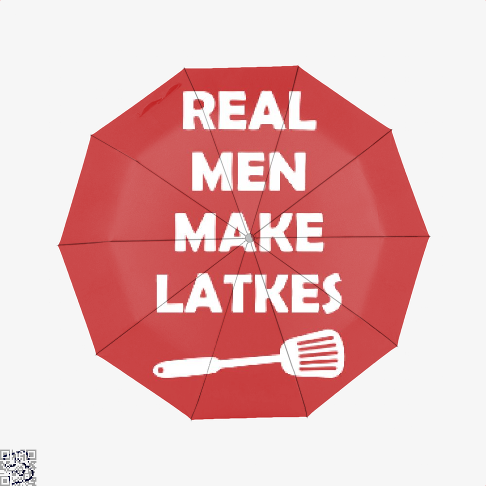 Real Man Make Latkes Juvenile Umbrella - Red - Productgenjpg