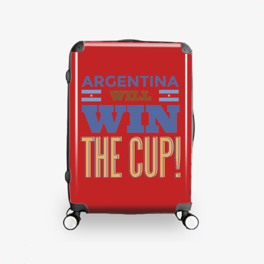 Argentina Will Win The Cup, Fifa World Cup Hardside Luggage