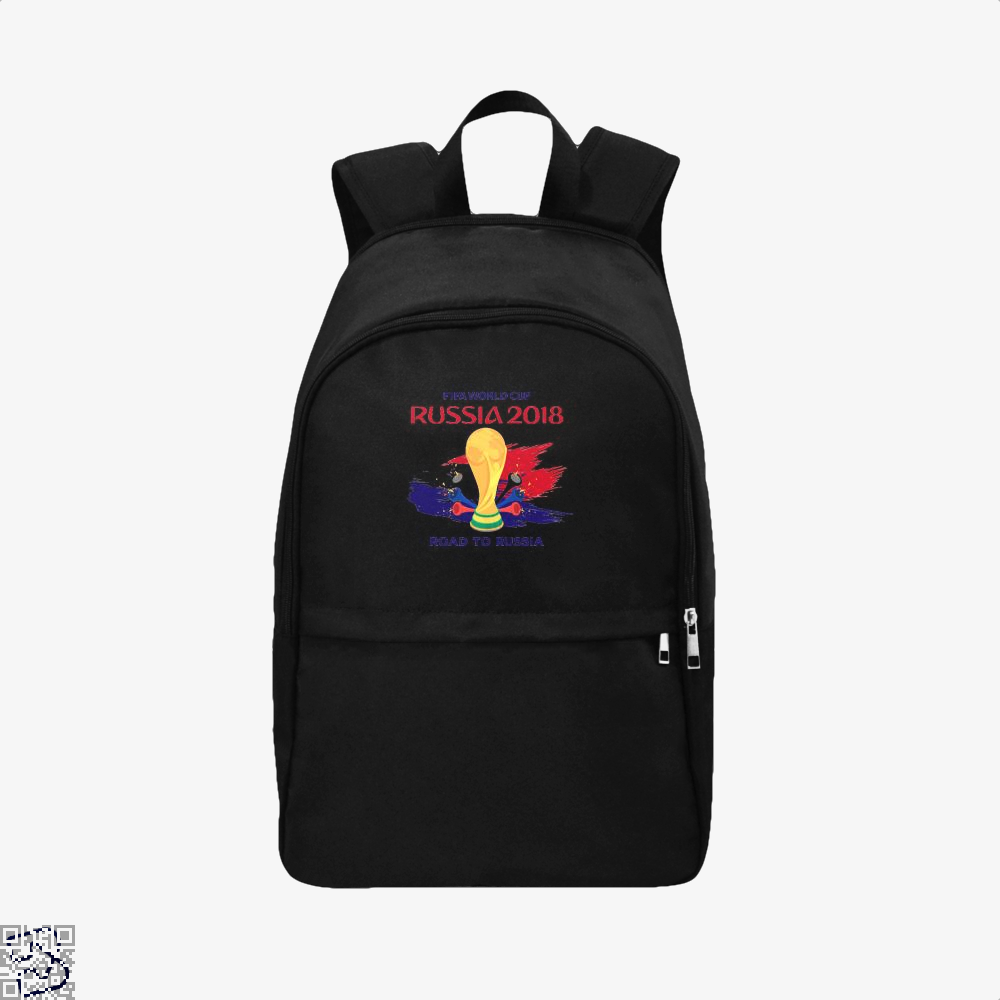 Road To Russia World Cup 2018 Fifa Backpack - Black / Adult - Productgenapi