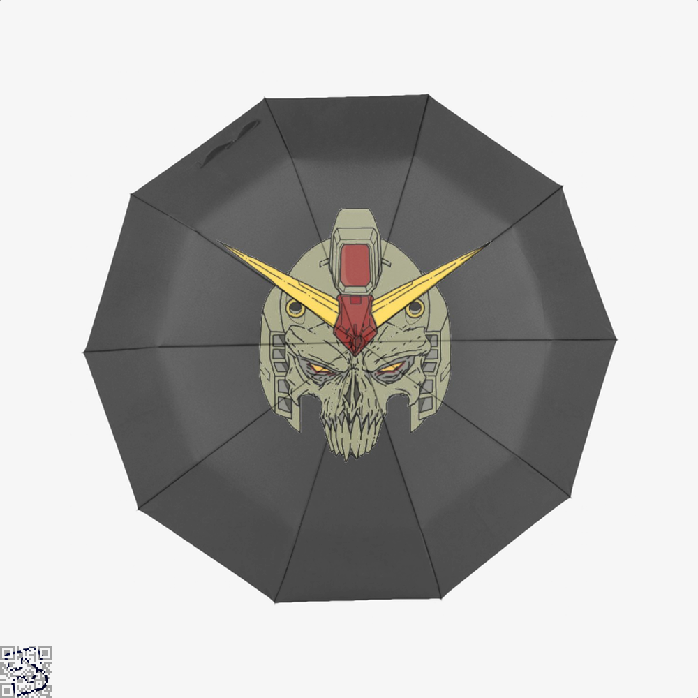 Rx 78 2 Skull Gundam Umbrella - Black - Productgenjpg