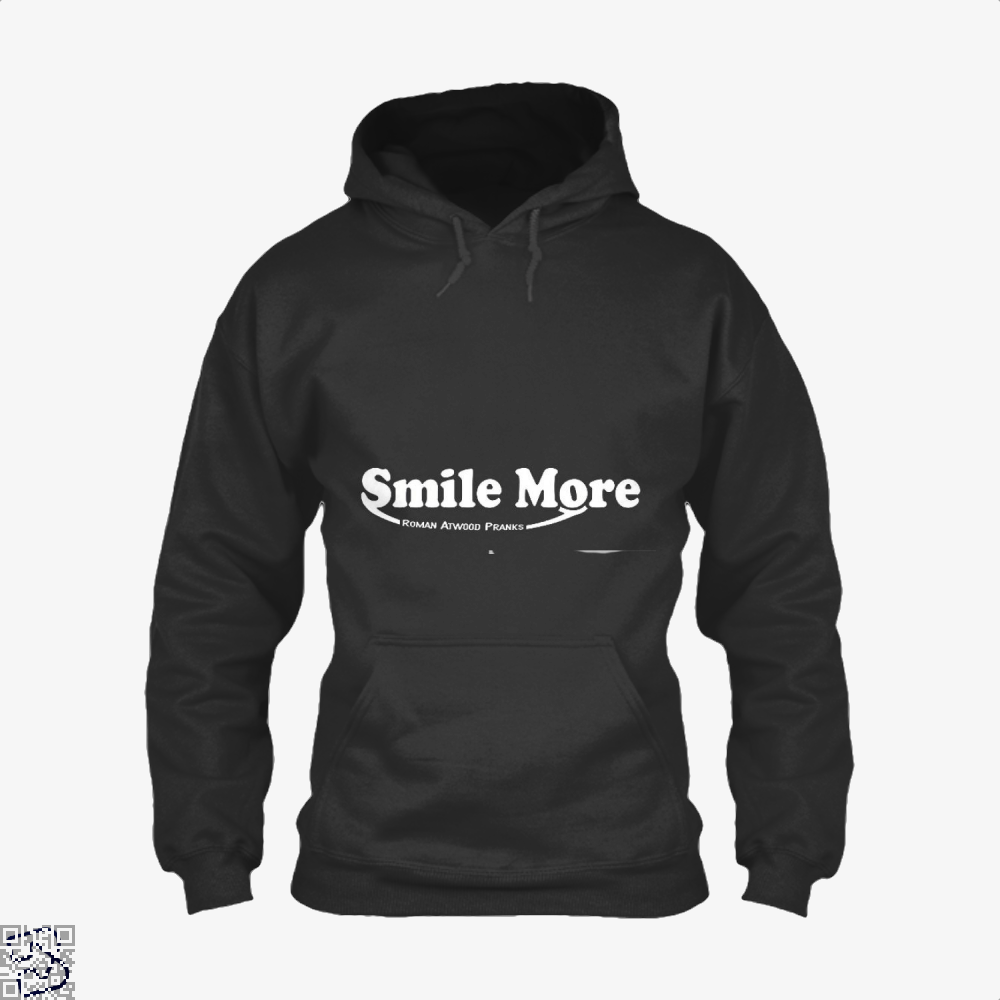 S-Mi-Le Mo-Re Roman Atwood Risque Hoodie - Black / X-Small - Productgenjpg