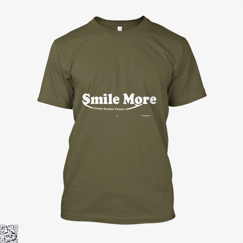 S-Mi-Le Mo-Re Roman Atwood Risque Shirt - Men / Brown / X-Small - Productgenjpg