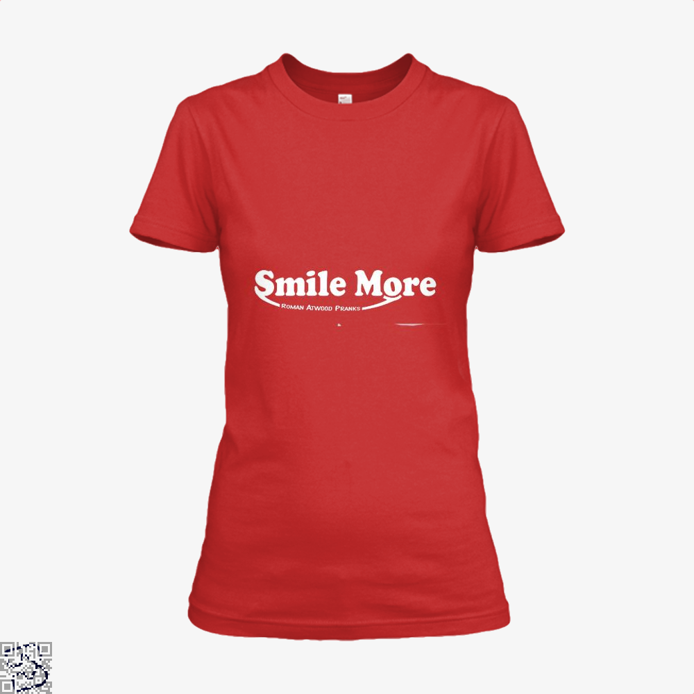 S-Mi-Le Mo-Re Roman Atwood Risque Shirt - Women / Red / X-Small - Productgenjpg