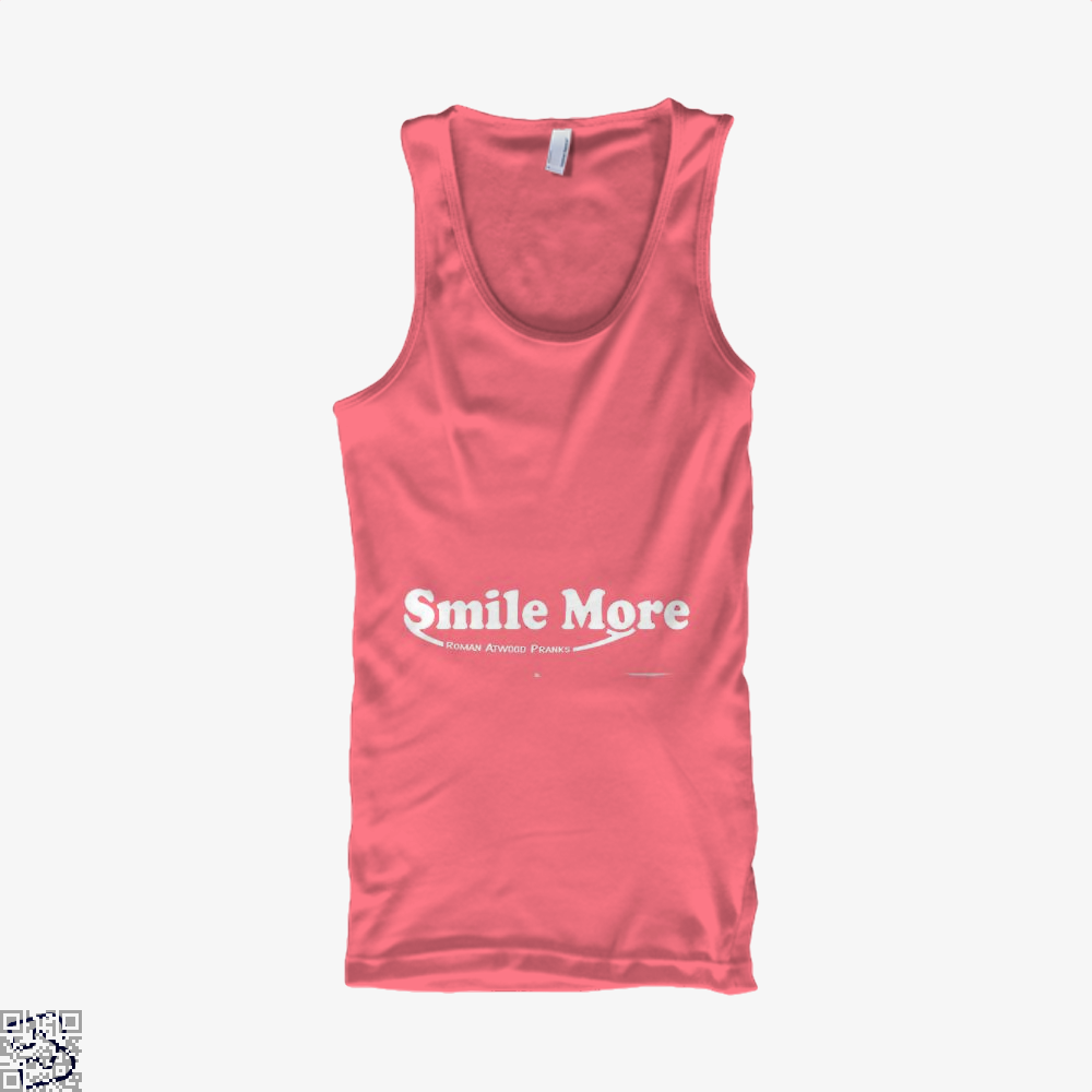 S-Mi-Le Mo-Re Roman Atwood Risque Tank Top - Women / Pink / Xx-Small - Productgenjpg