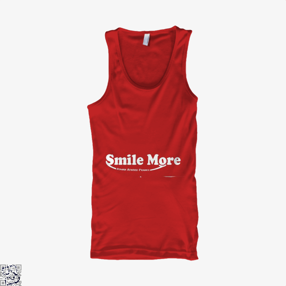 S-Mi-Le Mo-Re Roman Atwood Risque Tank Top - Women / Red / X-Small - Productgenjpg