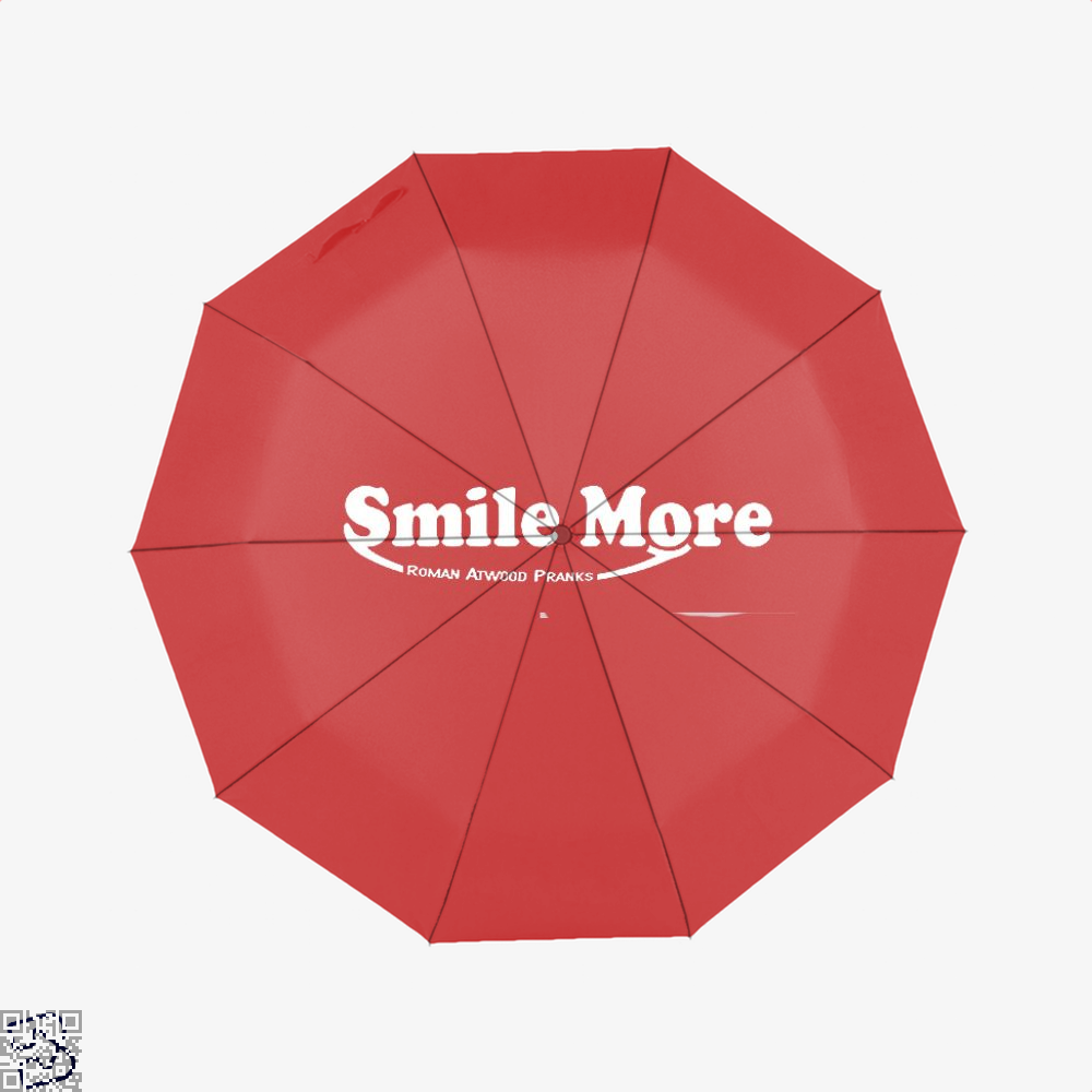 S-Mi-Le Mo-Re Roman Atwood Risque Umbrella - Red - Productgenjpg