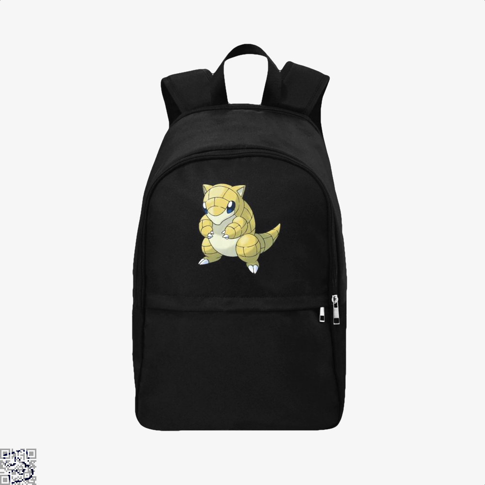 Sandshrew Pokemon Backpack - Black / Adult - Productgenapi