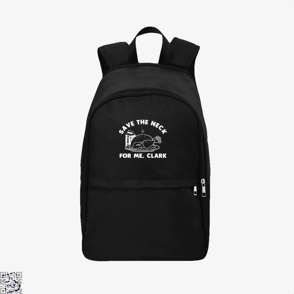 Save The Neck For Me Clark Droll Backpack - Black / Adult - Productgenjpg
