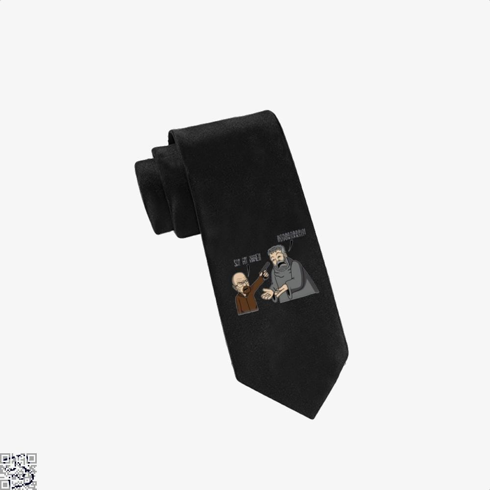 Say My Name Hodorrrrr Game Of Thrones Tie - Black - Productgenjpg