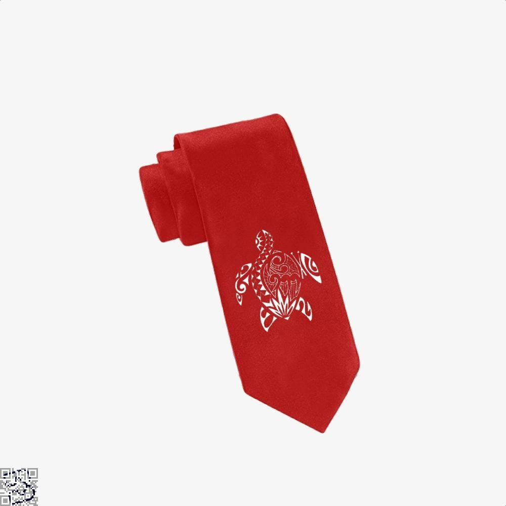 Sea Turtle Turtles Tie - Red - Productgenjpg