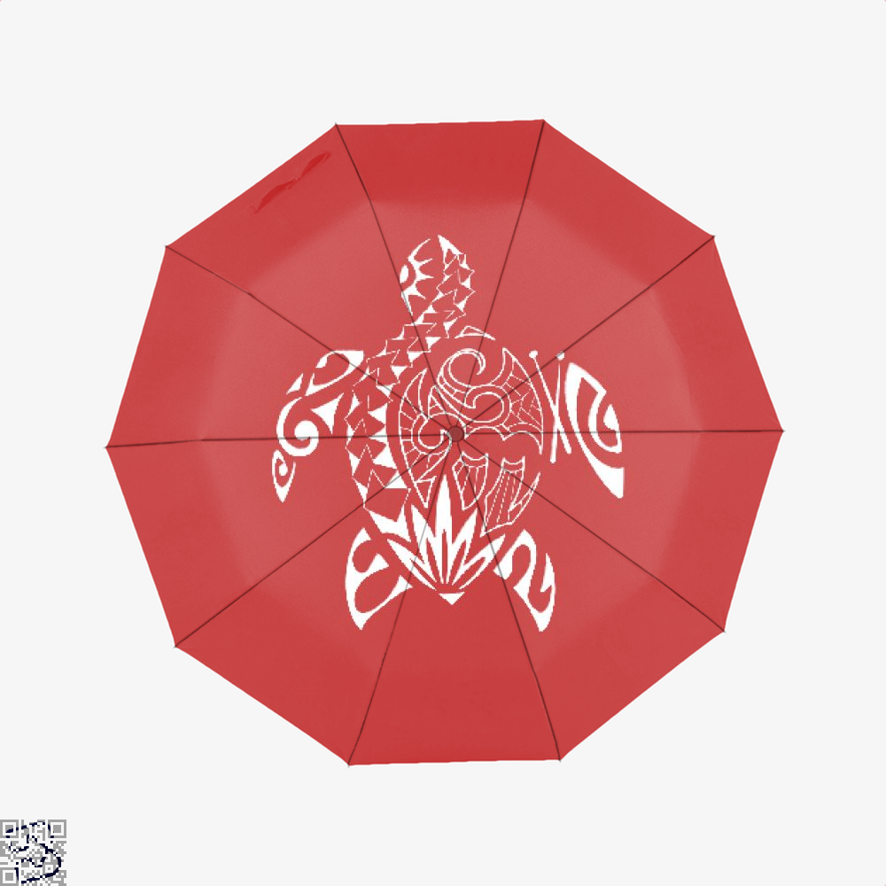 Sea Turtle Turtles Umbrella - Red - Productgenjpg