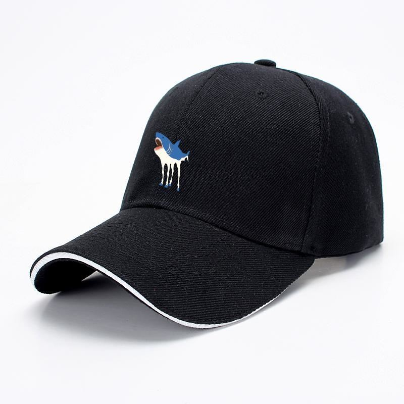 Sharkhorse Horse Baseball Cap - Black - Productgenapi