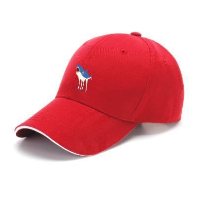Sharkhorse Horse Baseball Cap - Red - Productgenapi