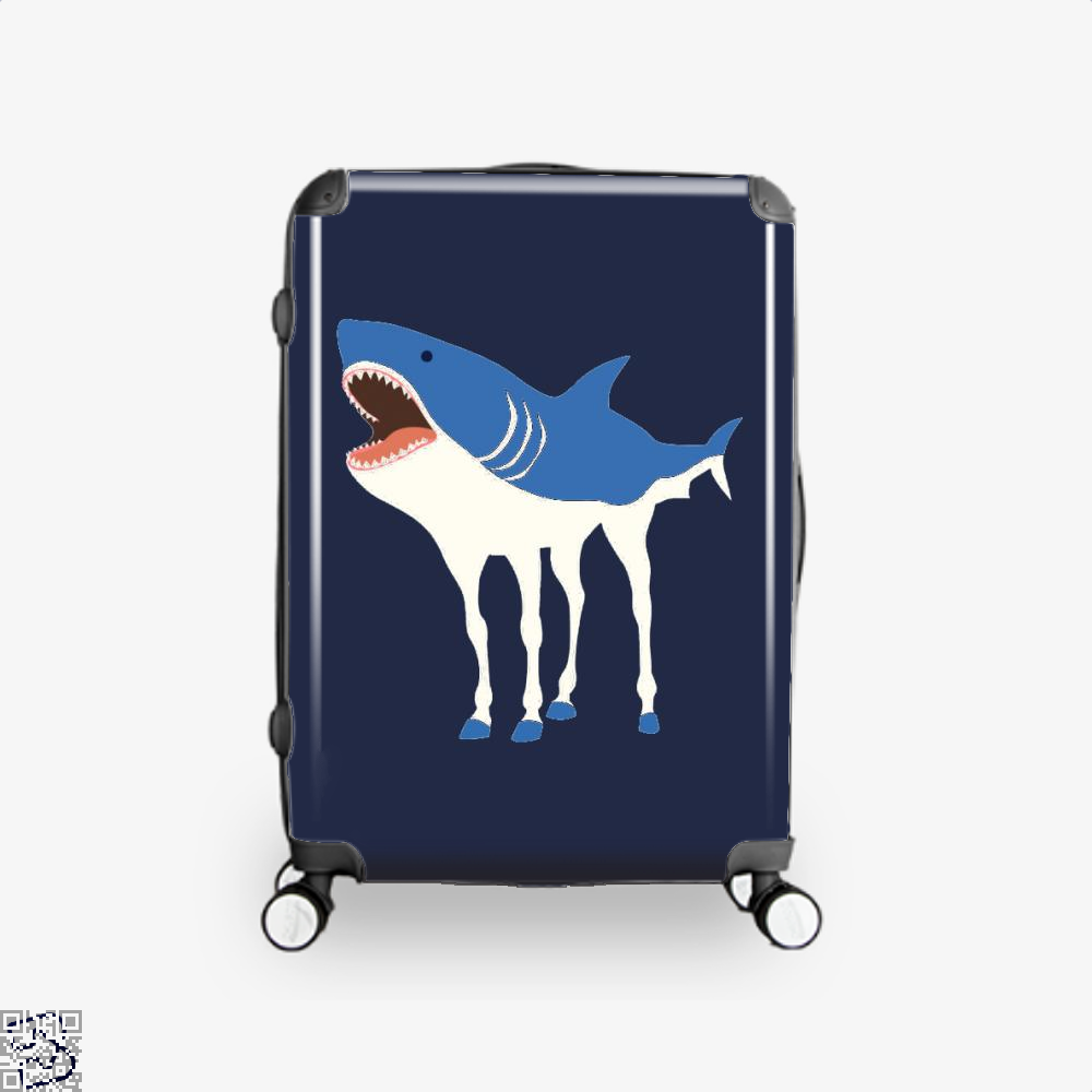 Sharkhorse Horse Suitcase - Blue / 16 - Productgenapi