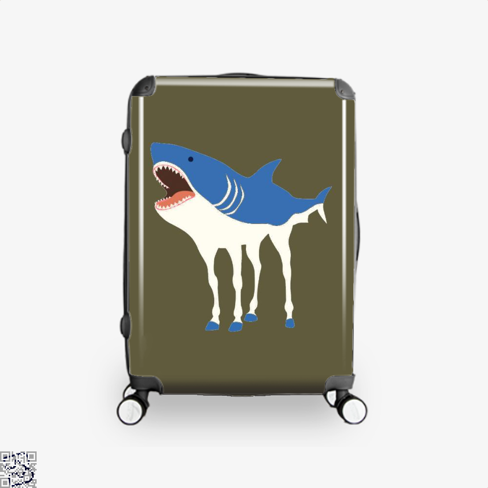 Sharkhorse Horse Suitcase - Brown / 16 - Productgenapi
