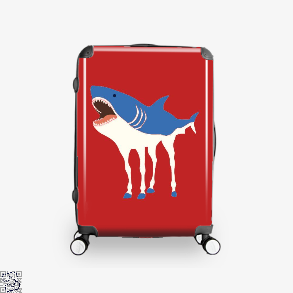 Sharkhorse Horse Suitcase - Red / 16 - Productgenapi