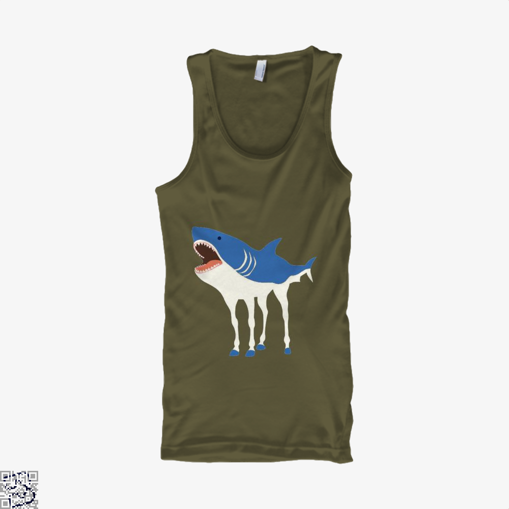 Sharkhorse Horse Tank Top - Men / Brown / Small - Productgenapi