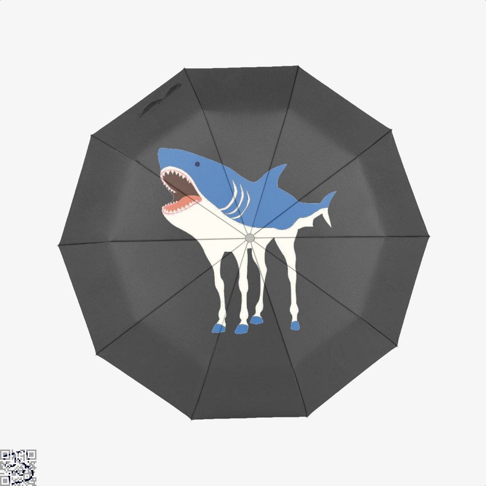 Sharkhorse Horse Umbrella - Black - Productgenjpg