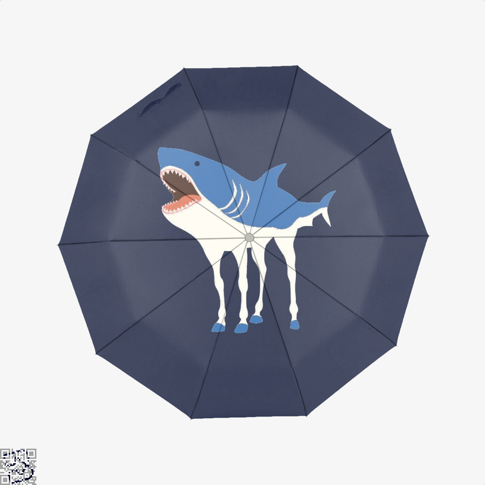 Sharkhorse Horse Umbrella - Blue - Productgenapi