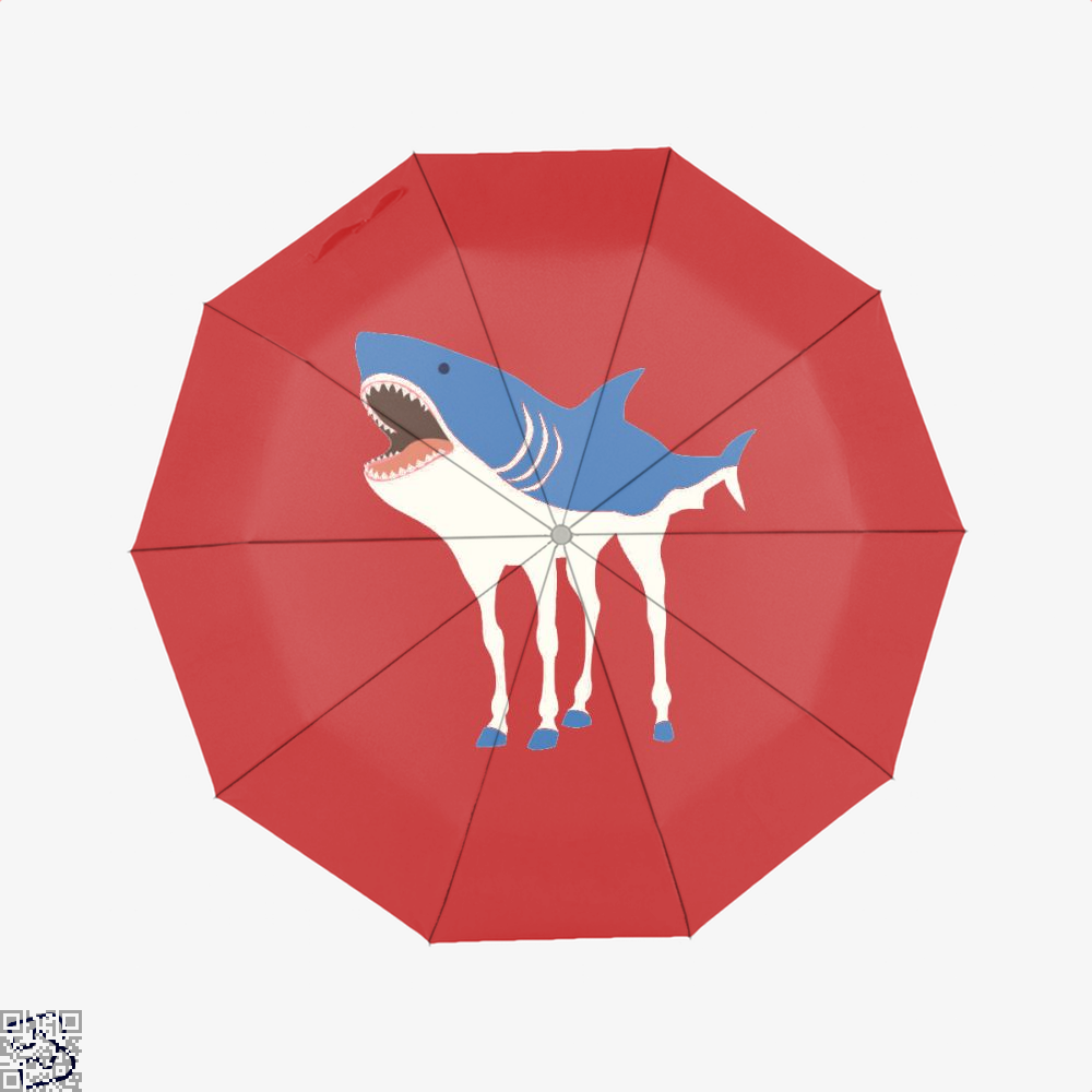 Sharkhorse Horse Umbrella - Red - Productgenapi