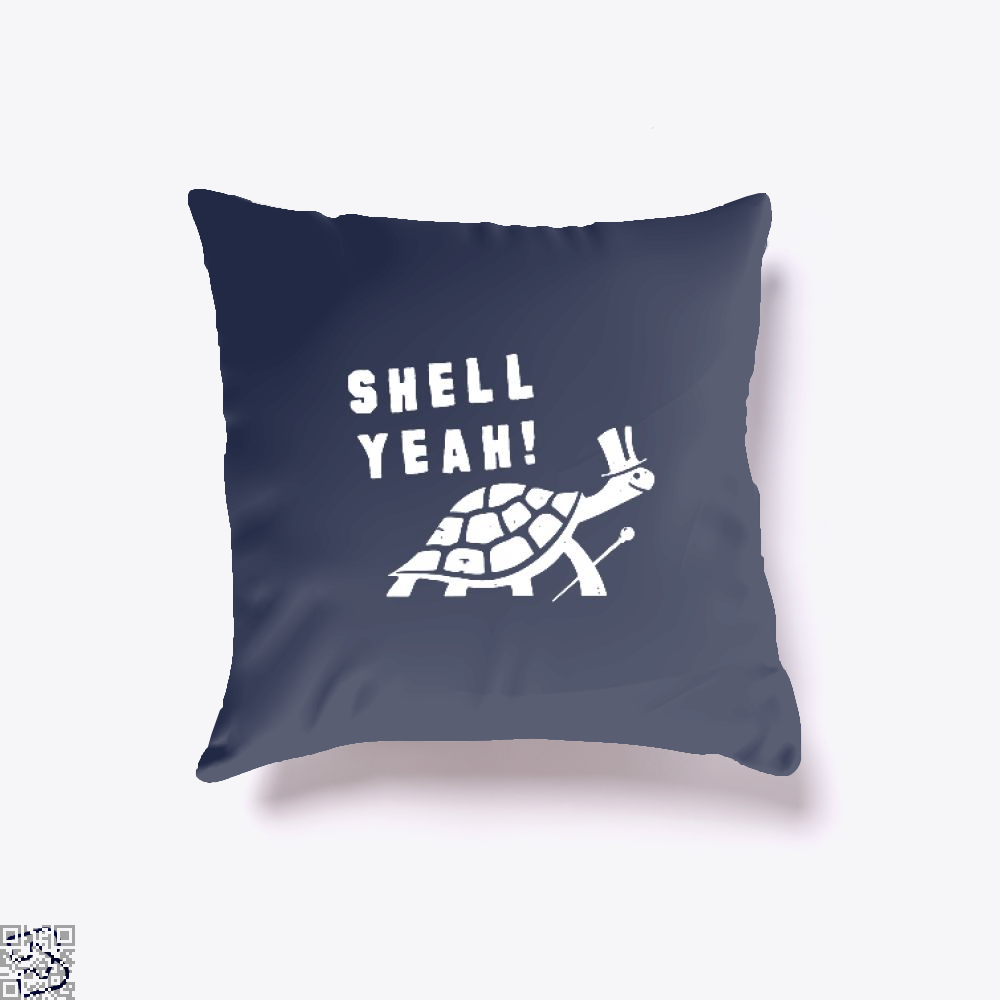 Shell Yeah Juvenile Throw Pillow Cover - Blue / 16 X - Productgenjpg