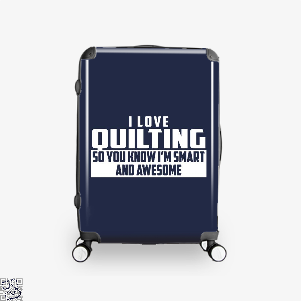 Smart And Awesome Quilting Sewing Suitcase - Blue / 16 - Productgenjpg