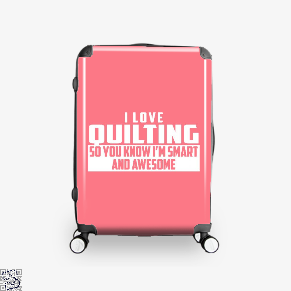 Smart And Awesome Quilting Sewing Suitcase - Pink / 16 - Productgenjpg