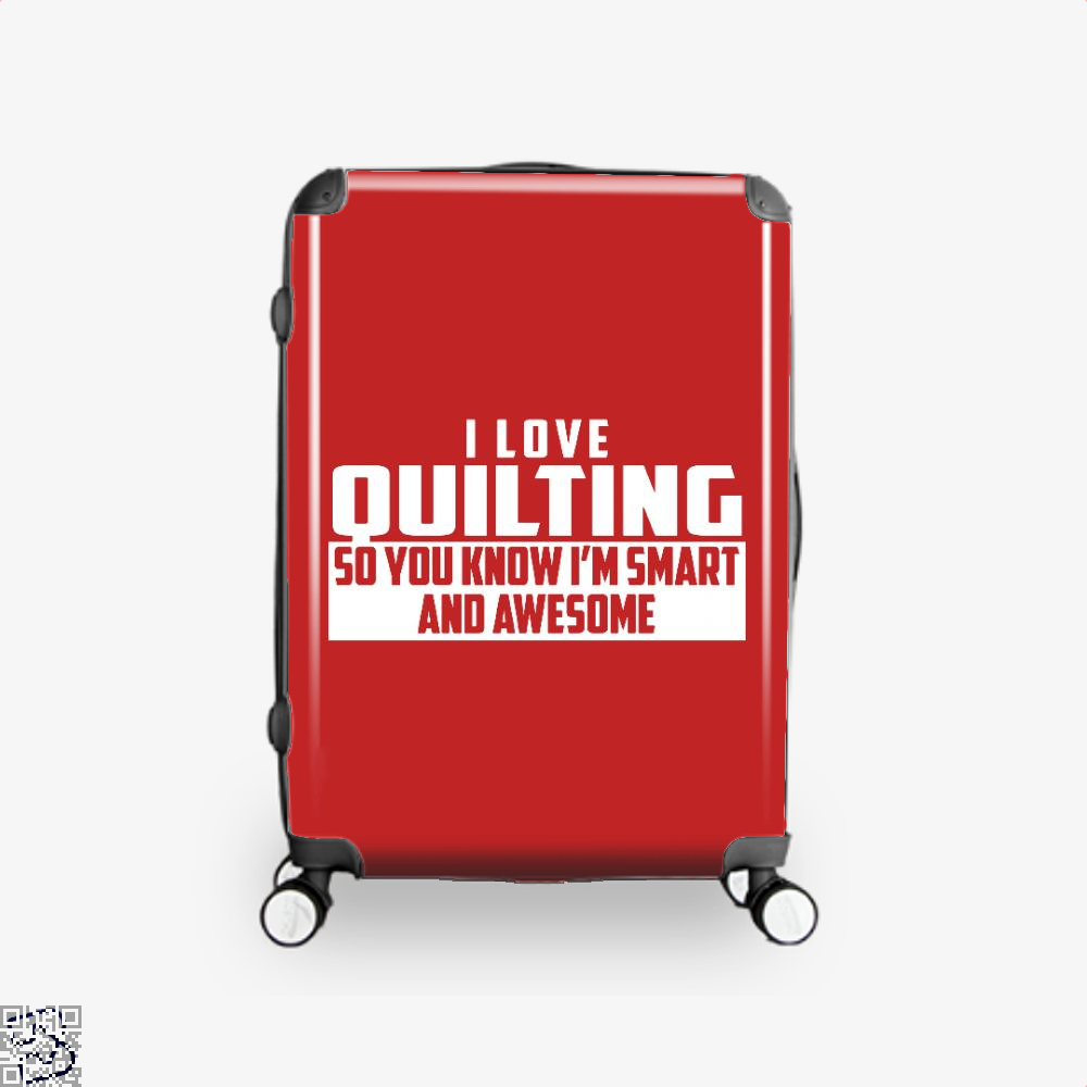 Smart And Awesome Quilting Sewing Suitcase - Red / 16 - Productgenjpg