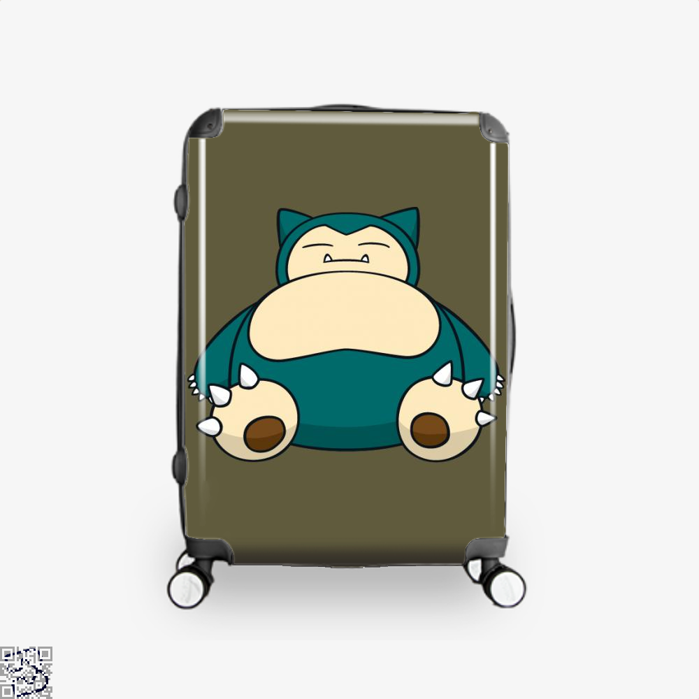Snorlax Pokemon Suitcase - Brown / 16 - Productgenapi