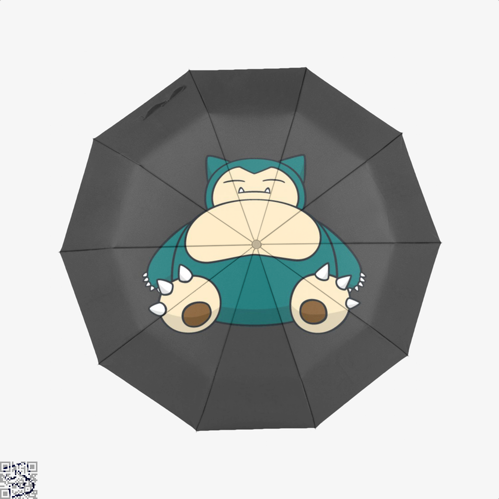 Snorlax Pokemon Umbrella - Black - Productgenapi