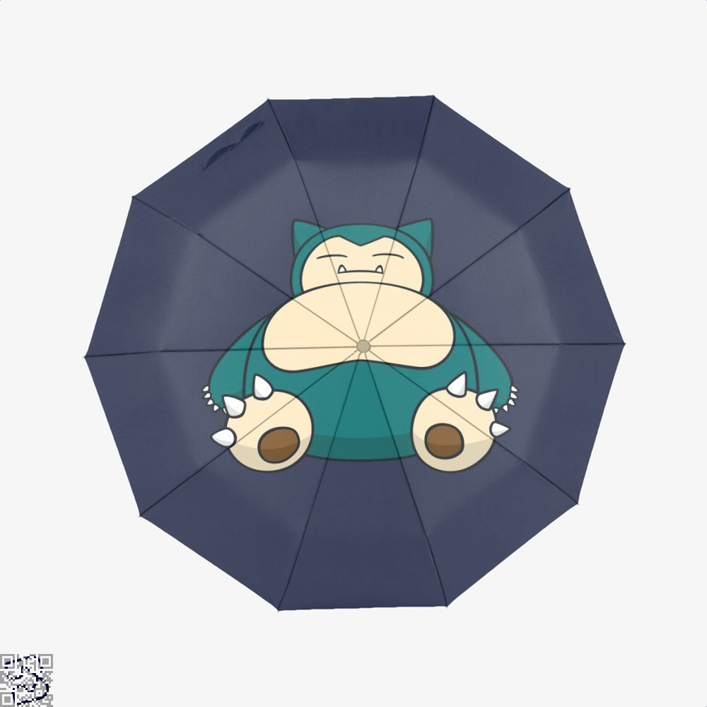 Snorlax Pokemon Umbrella - Blue - Productgenapi
