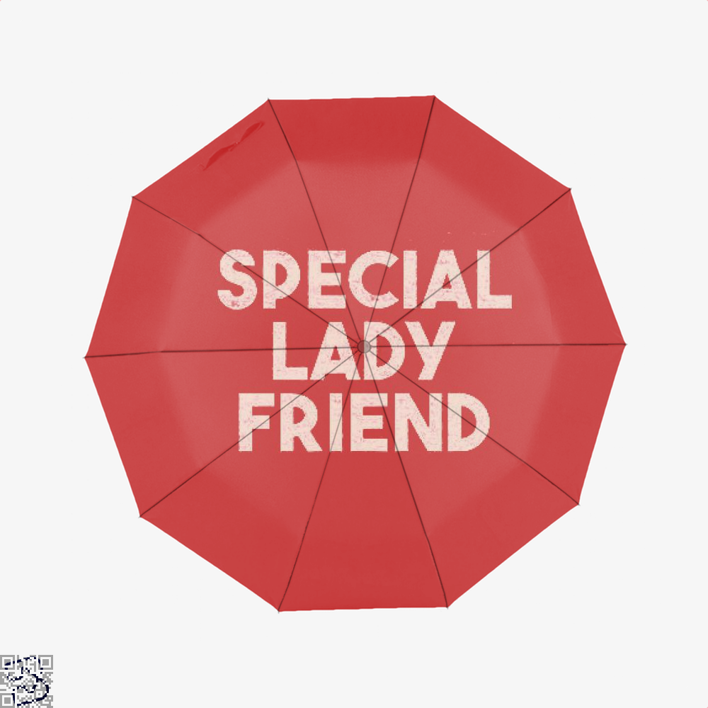 Special Lady Friend Juvenile Umbrella - Red - Productgenjpg