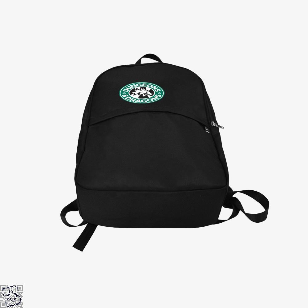 Starbucks Parody Mashup Dragon And Dungeon Backpack - Productgenjpg