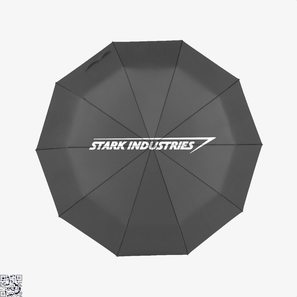 Stark Industries Iron Man Umbrella - Black - Productgenapi