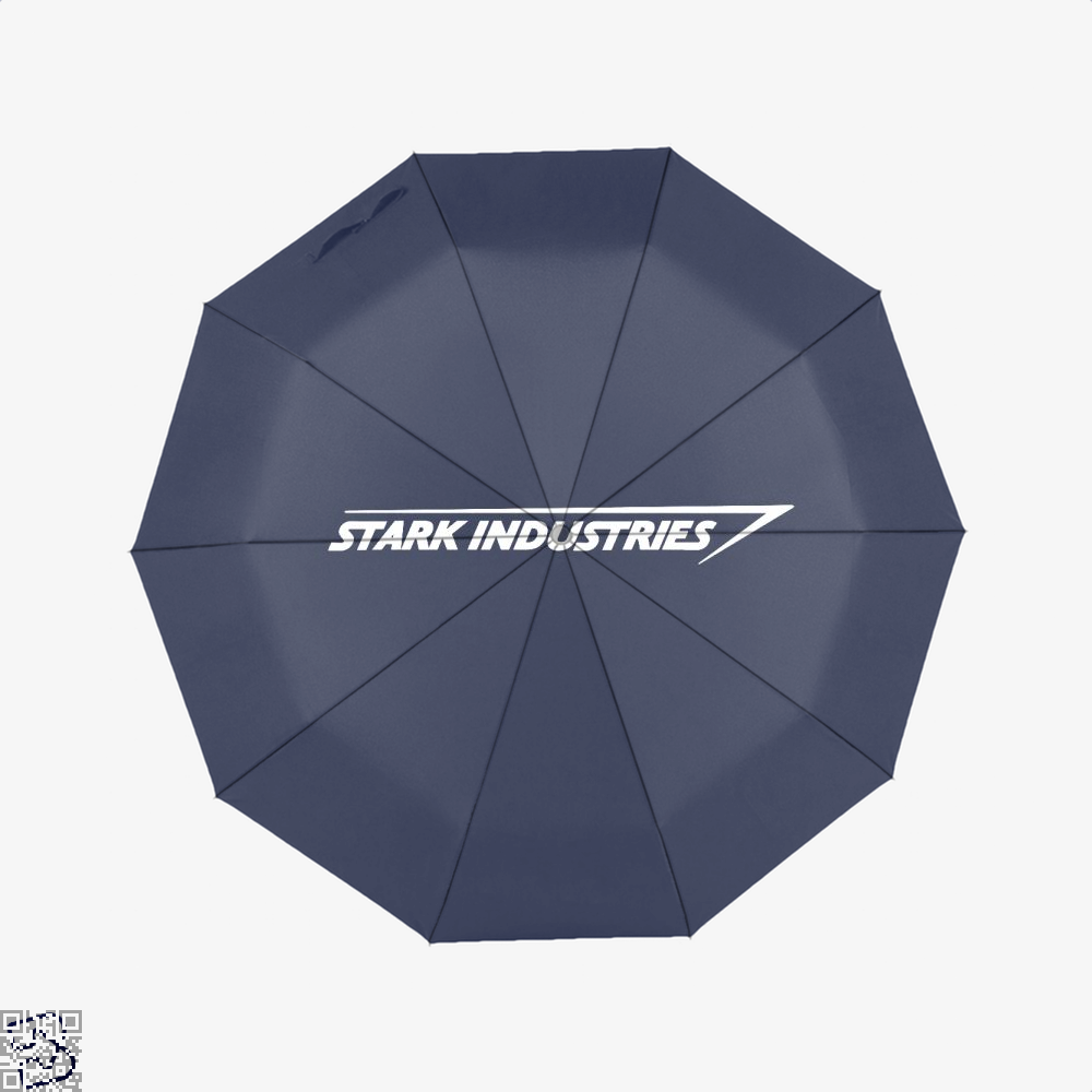 Stark Industries Iron Man Umbrella - Blue - Productgenapi