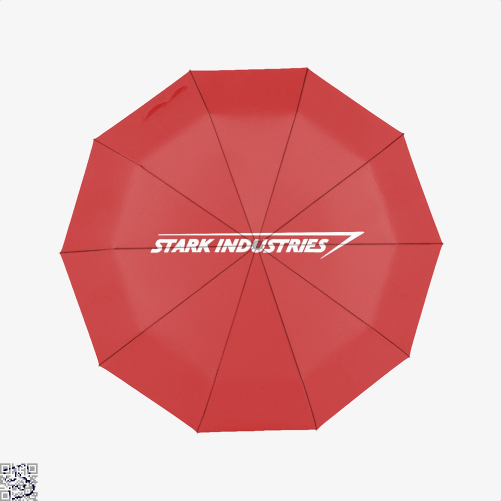 Stark Industries Iron Man Umbrella - Red - Productgenapi